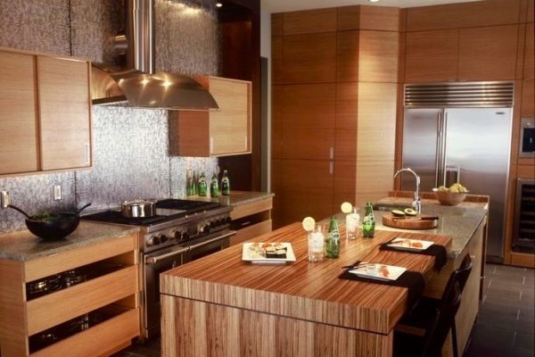 Asian Modern Kitchen