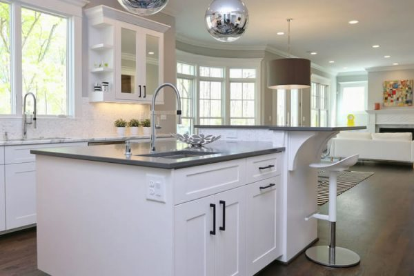 The Modern White Kitchen